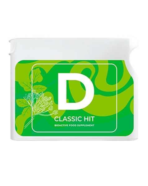 D - new Detox food supplement Vision - Vision shop